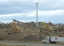 Teichert Aggregates Wind Turbine